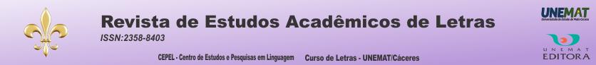 Revista de Estudos Acadêmicos de Letras